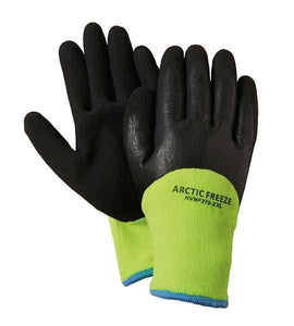 Fairfield Glove HV370 High Visibility Nitrile Work Glove