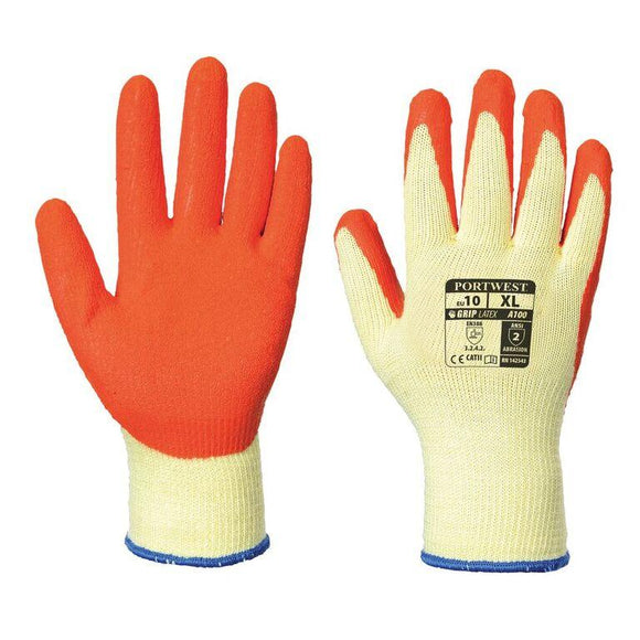 Portwest A100 Latex Grip Glove