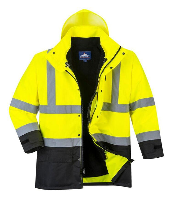 Portwest US768 ANSI Class 3 Hi-Vis Executive 5-in-1 Jacket