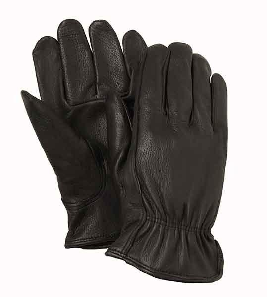 Fairfield Glove GB808-1 Black Deerskin Leather Work Glove