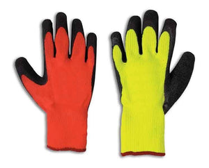 Fairfield Glove 51578 High Visibility Insulated Rubber Palm Work Glove