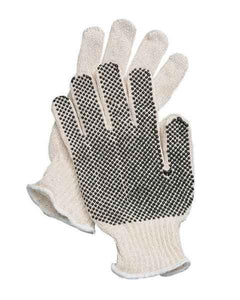 Fairfield Glove 59660 Polycotton String Knit Work Glove with PVC Dots