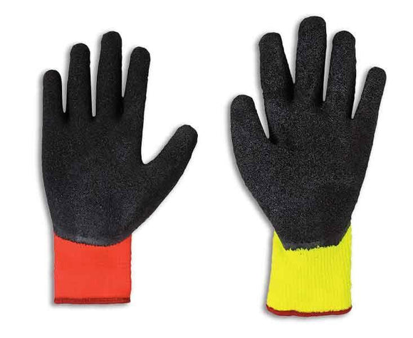 Fairfield Glove 51478 High Visibility Rubber Palm Work Glove