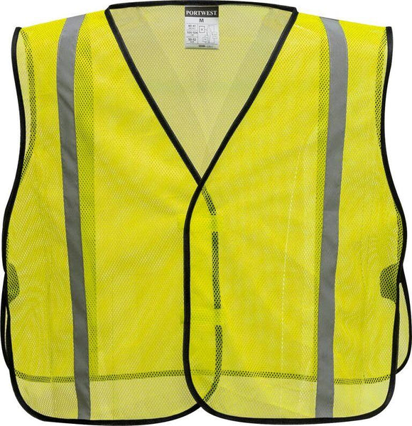 Portwest US390 Economy Non ANSI Mesh Safety Vest