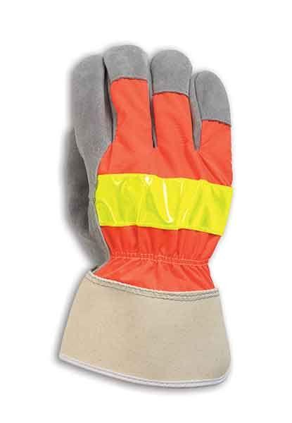 Fairfield Glove I-35REF Cowhide Leather Glove with Reflective Strip