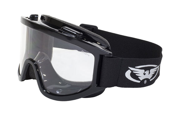 Global Vision Wind-Shield A/F Anti-Fog Goggles with Clear Lenses