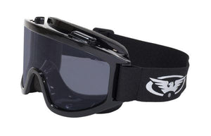 Global Vision Wind-Shield A/F Anti-Fog Goggles with Smoke Lenses