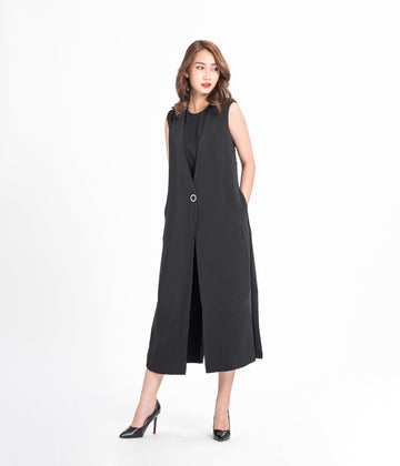 Button Shift Jumpsuit