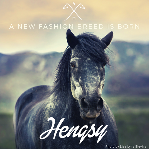 New fashion breed is born Hengsy Hat Equestrian lifestyle outdoor adventure
