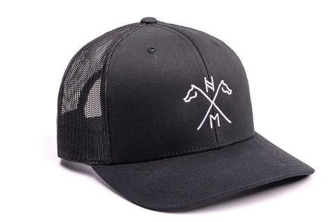 Hengsy Hat - The Hanoverian - Trucker Hat Baseball cap Black