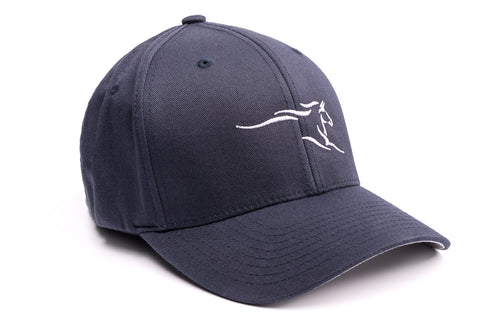 Hengsy Hat - The Irish Hunter - Flexfit Dad Hat - Navy