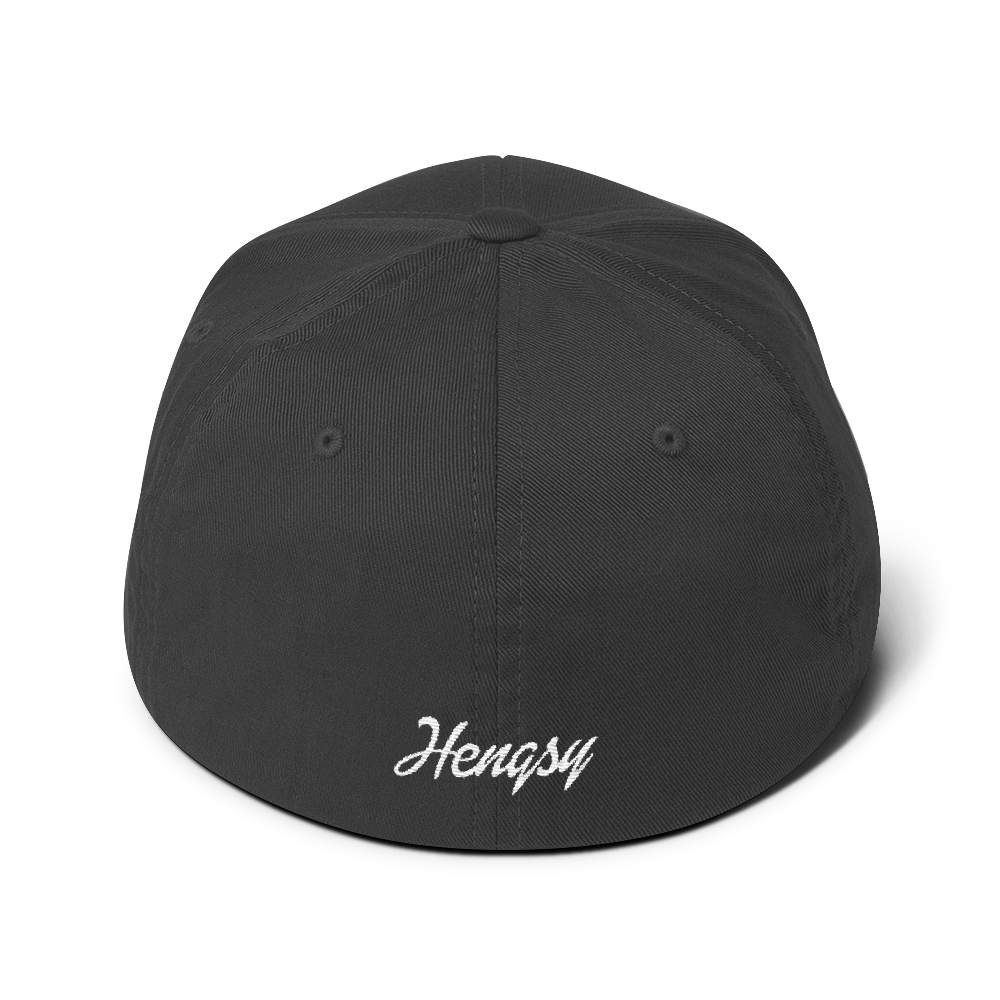 Hengsy Hats. The Friesian. Flexifit Dad Hat Baseball Cap.