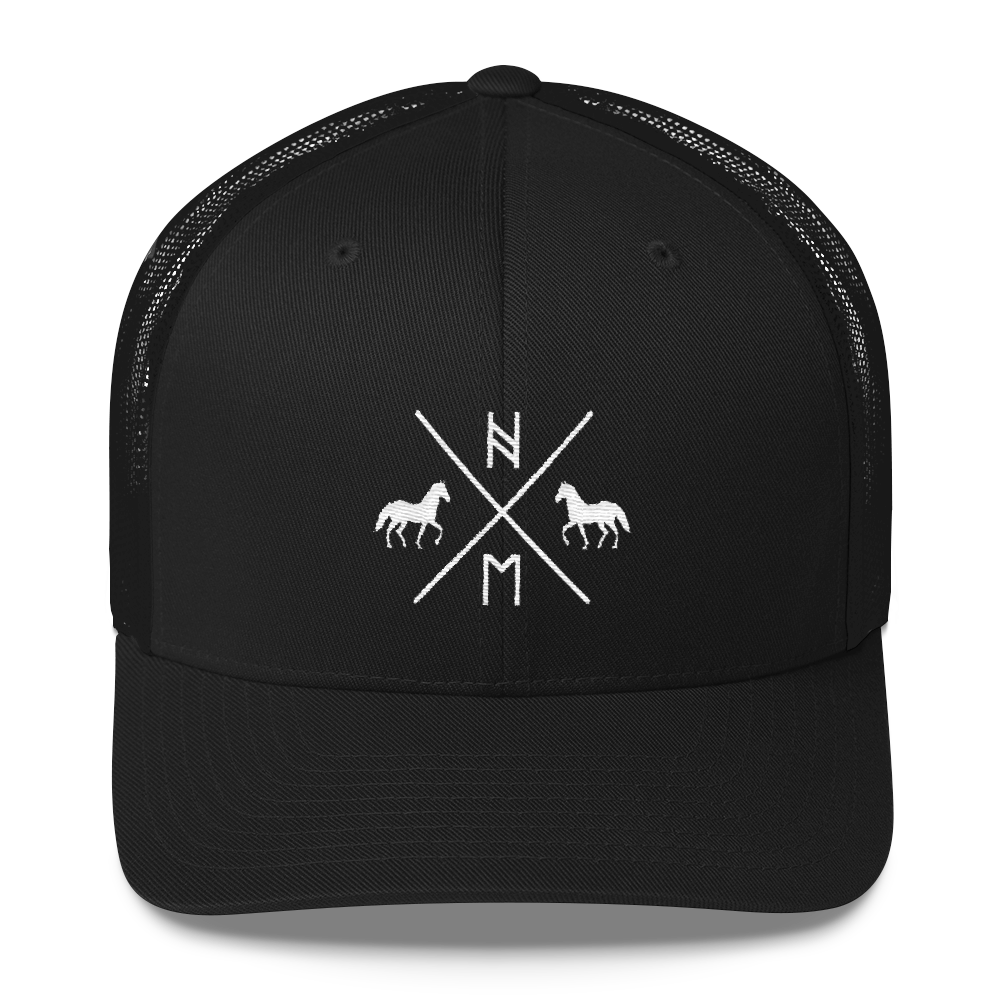 Hengsy Hats. The Friesian. Snapback Baseball Cap Trucker Hat.
