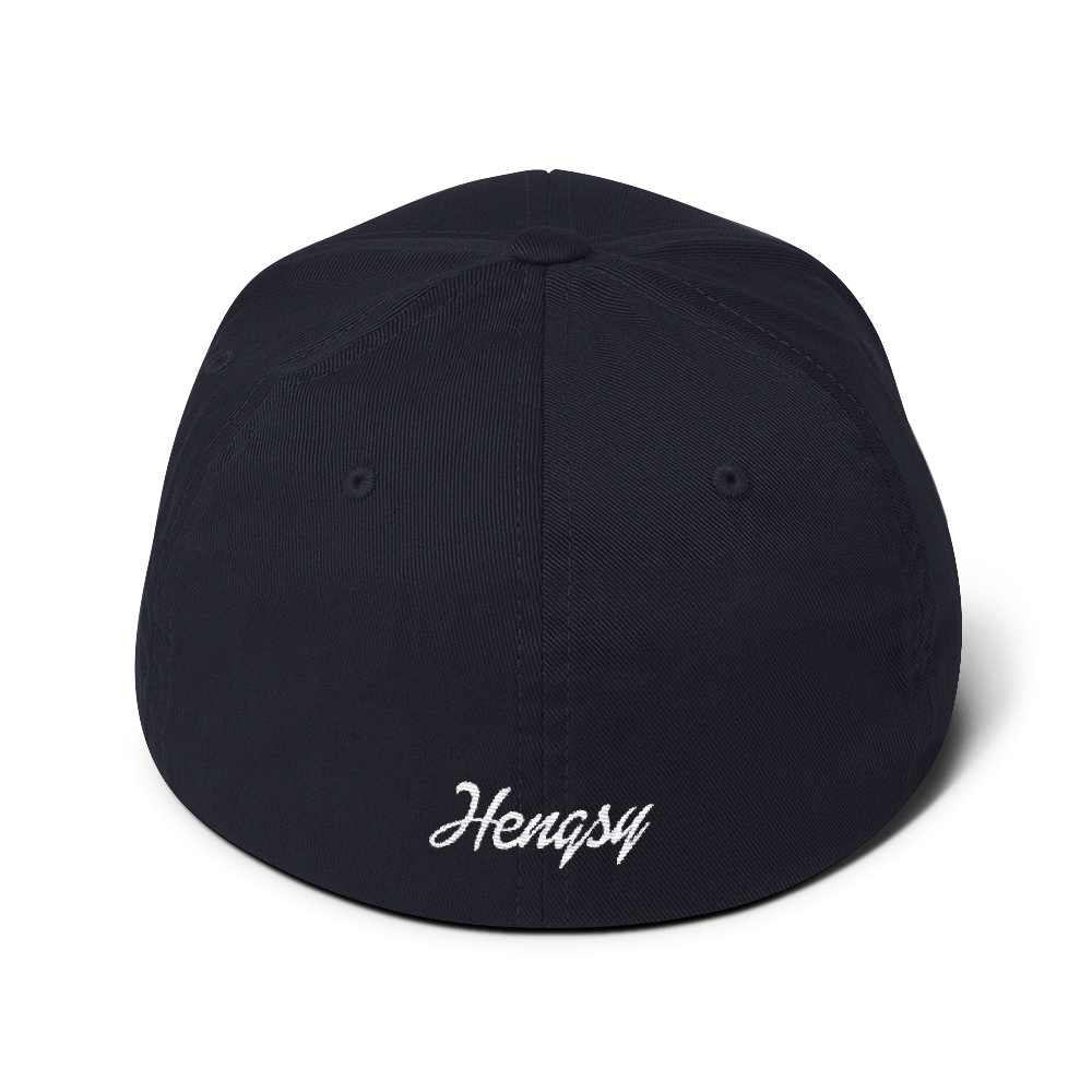Hengsy Hats. The Irish Hunter. Flexfit Dad Hat Baseball Cap.