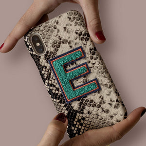 Alphabet E sticker printworks phone case bag accessories gifts for loved ones