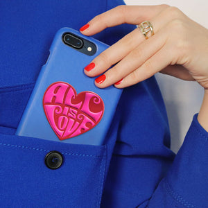 Heart sticker printworks phone case bag accessories gifts for loved ones