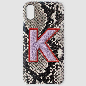 Alphabet K sticker printworks phone case bag accessories gifts for loved ones