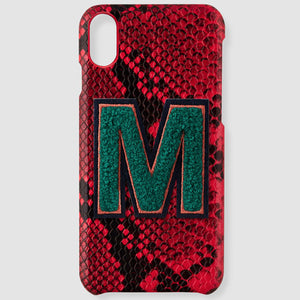 Alphabet M sticker printworks phone case bag accessories gifts for loved ones