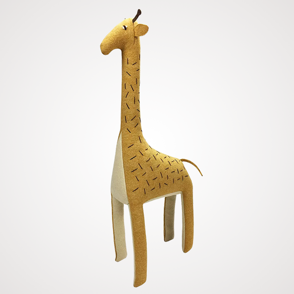 Ziffa the nubian giraffe decorative toy for family fun from CARAPAU