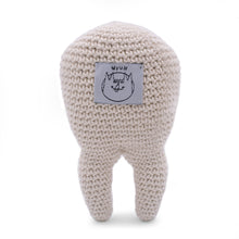 Load image into Gallery viewer, Tommy Teeth Myum organic cotton toy gift for kids and family
