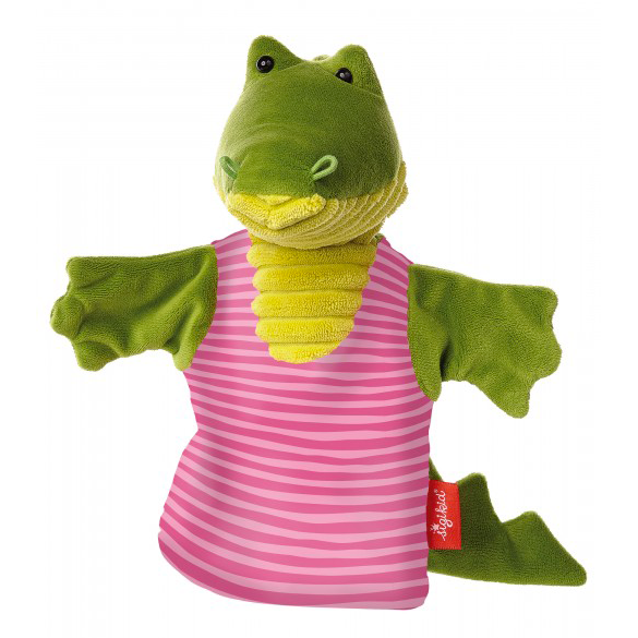 Hand Puppet Crocodile cuddley friend sigikids soft toy gift for kids and family