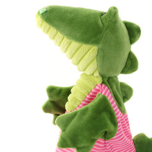Load image into Gallery viewer, Hand Puppet Crocodile cuddley friend sigikids soft toy gift for kids and family