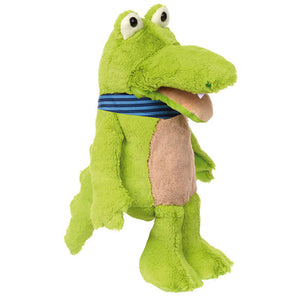 Hand Puppet Crocodile interactive cuddley friend sigikids soft toy gift for kids and family