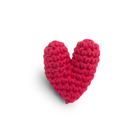 Heart Pin Myum cotton small gift