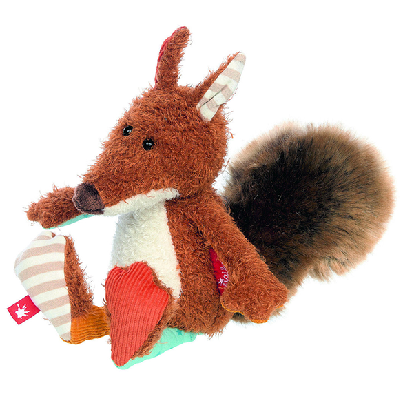 Squirrel cuddley friend sigikids soft toy gift for kids and family
