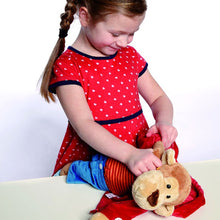 Load image into Gallery viewer, Teaching soft toy monkey sigikids educational toy gift for kids and family