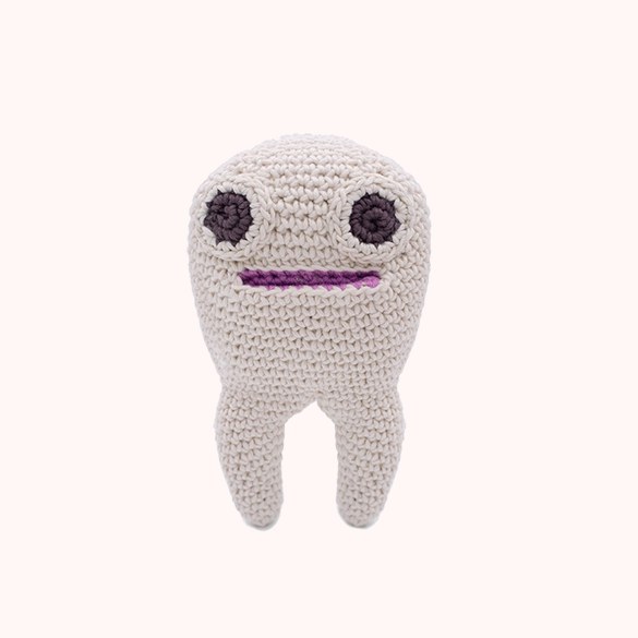 Tommy Teeth Myum organic cotton toy gift for kids and family
