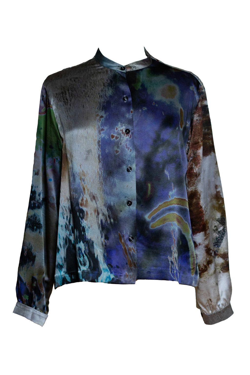 The Rivers & Tides Silk Boxy Shirt