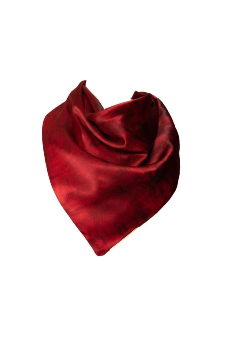 The Nuit Rouge Kerchief