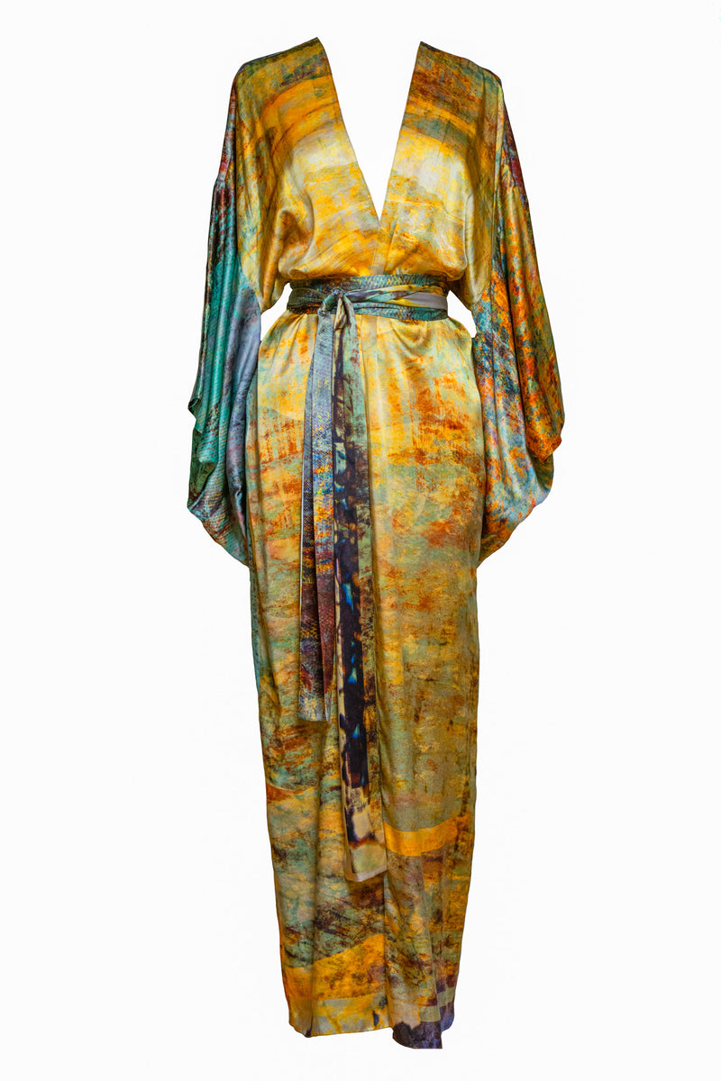 The Charred Willow Carmen Kimono