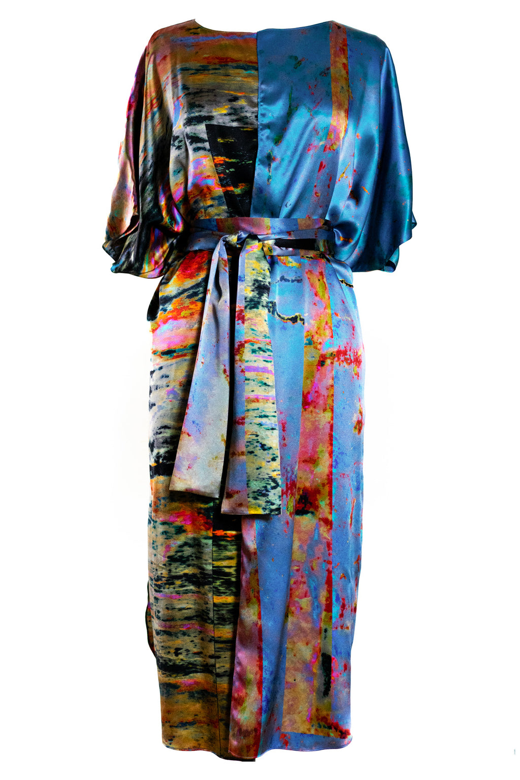 The Faultline Wrap Kaftan