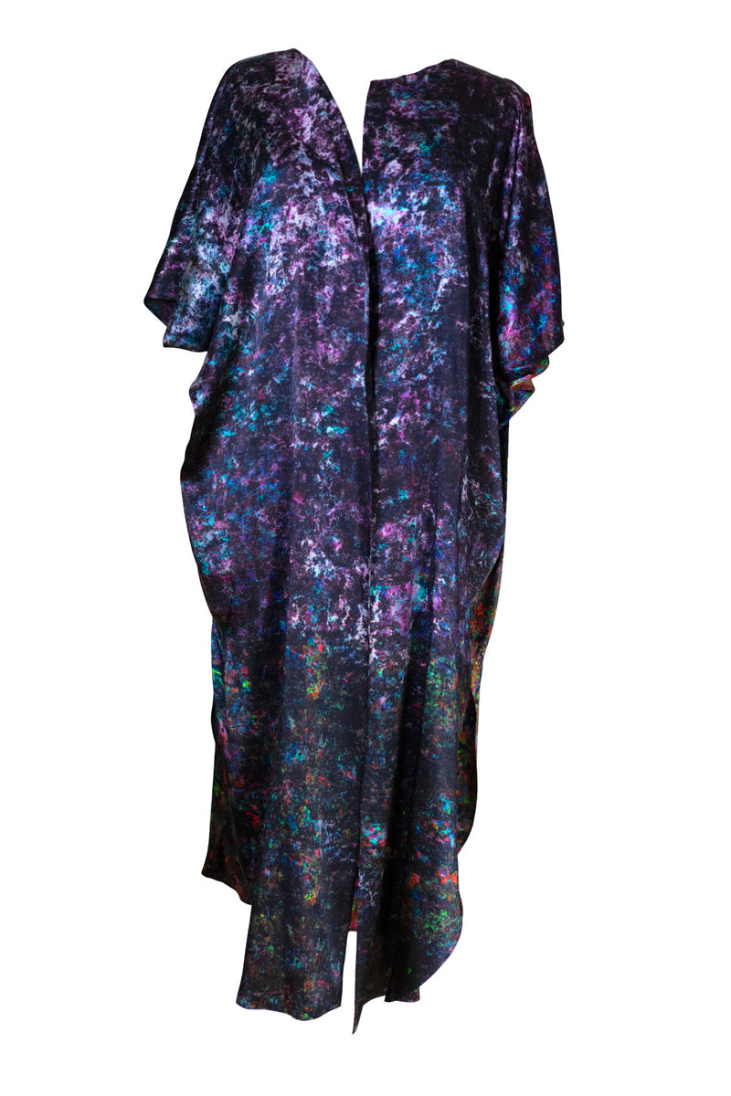 Night Garden Wrap Kaftan
