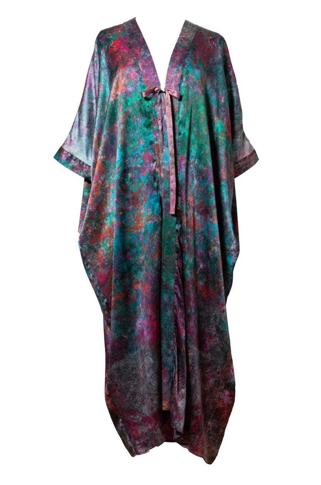 The Koralina Silk Cocoon Kaftan