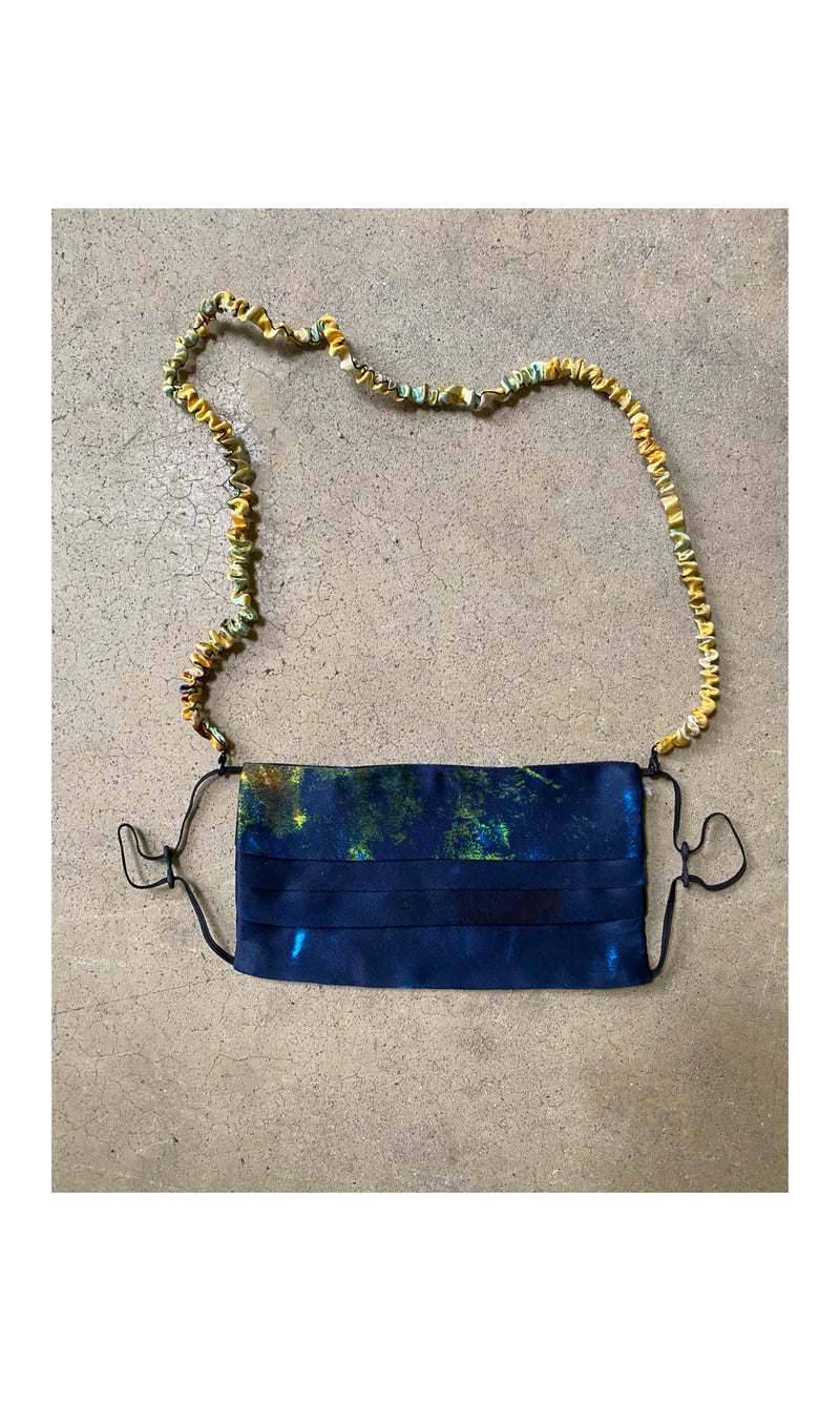 The Salton Sea Silk Mask Necklace