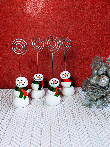Snowman Photo/Card Holder