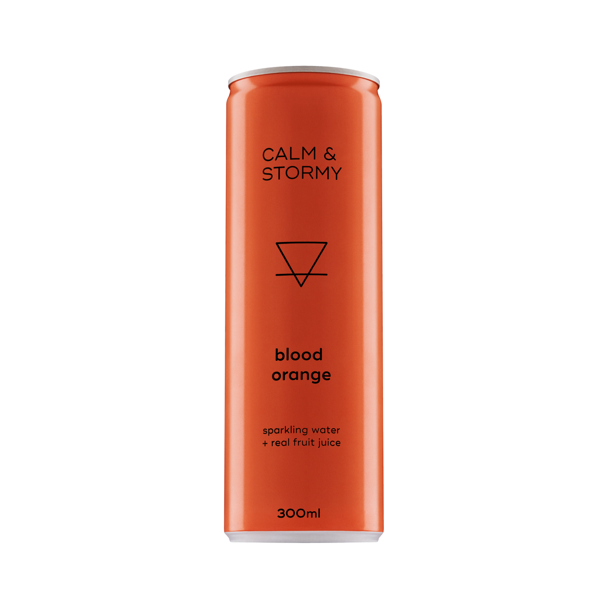 Calm and Stormy Blood Orange Sparkling 12 Can Pack