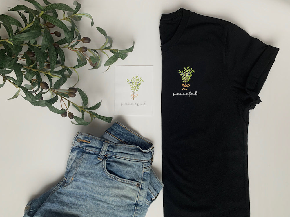 Behind the Design - The Enne Tee: Peaceful (Type 9)