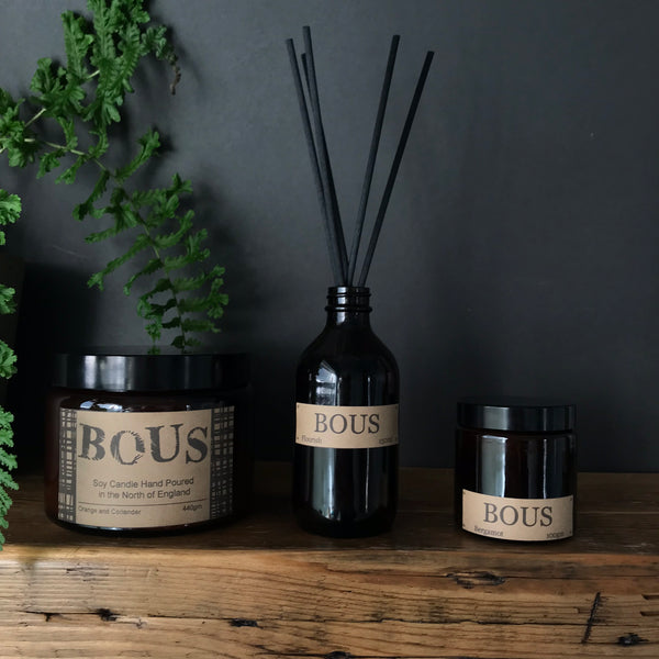 Bous Candles and Diffusers