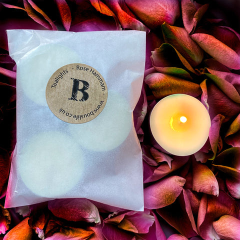 pack of 3 scented tealights