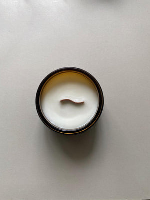 Lichen  - Hand Poured Soy Candle with Wooden Wick - Extra Large