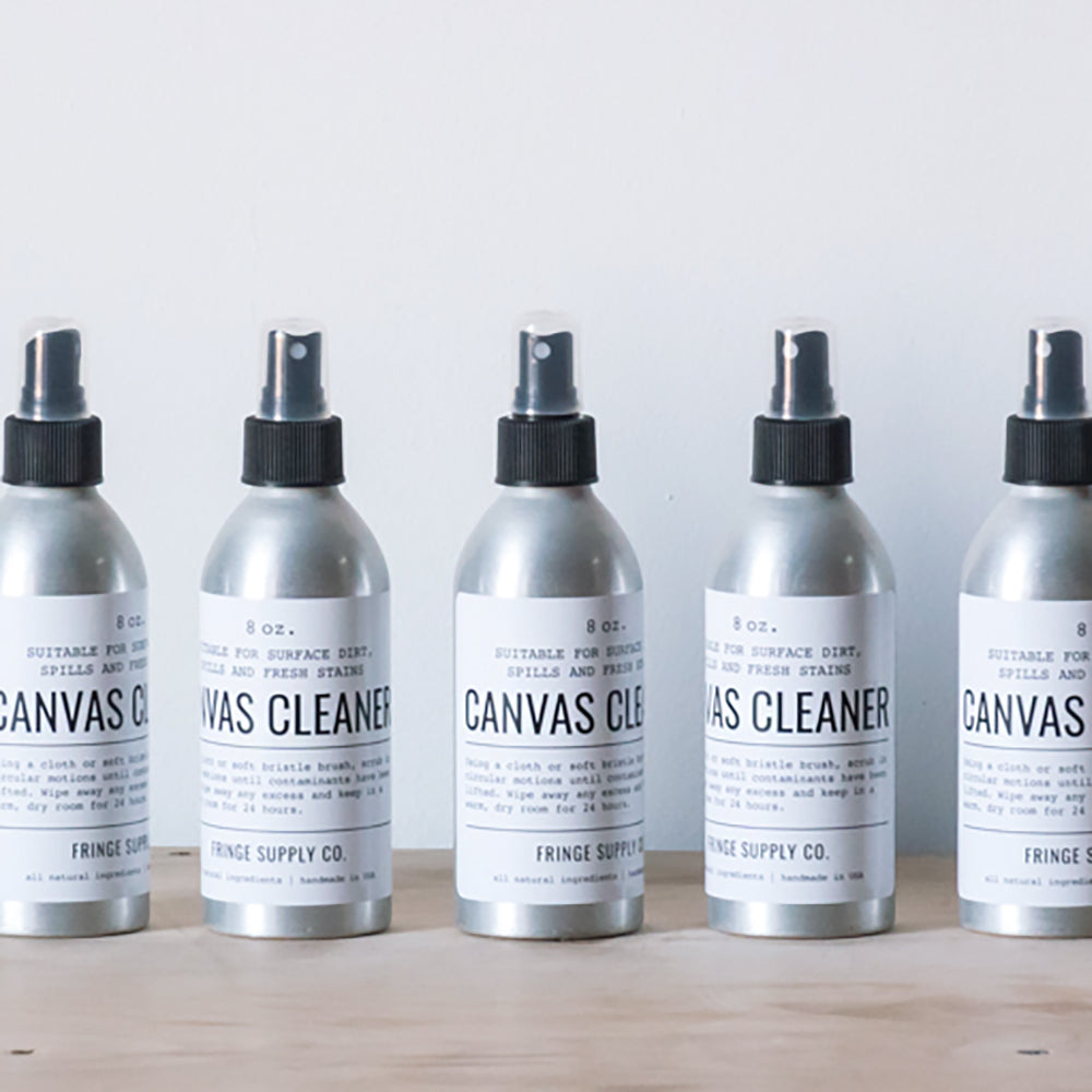 Canvas cleaner