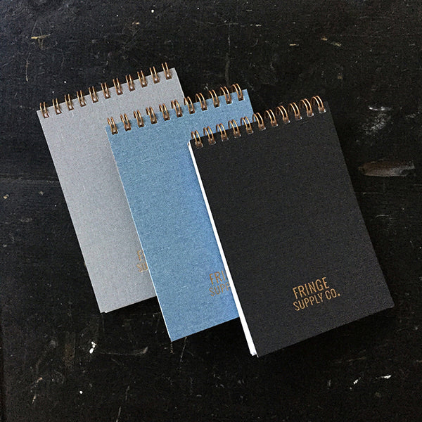 Fringe Supply Co. notebooks