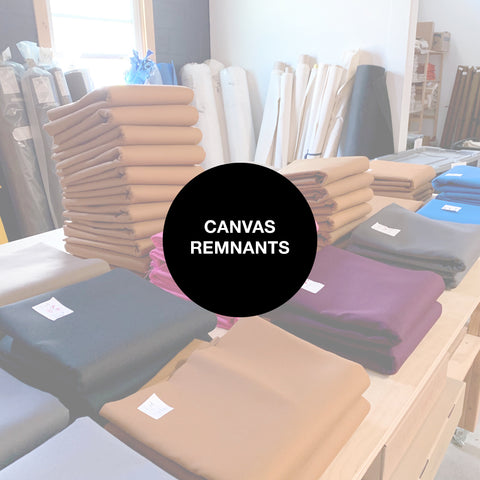 Canvas yardage
