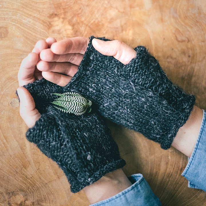 Wabi Mitts knit kit