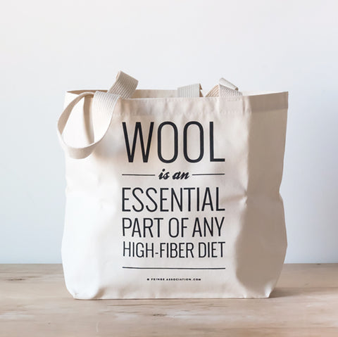 High-Fiber tote bag