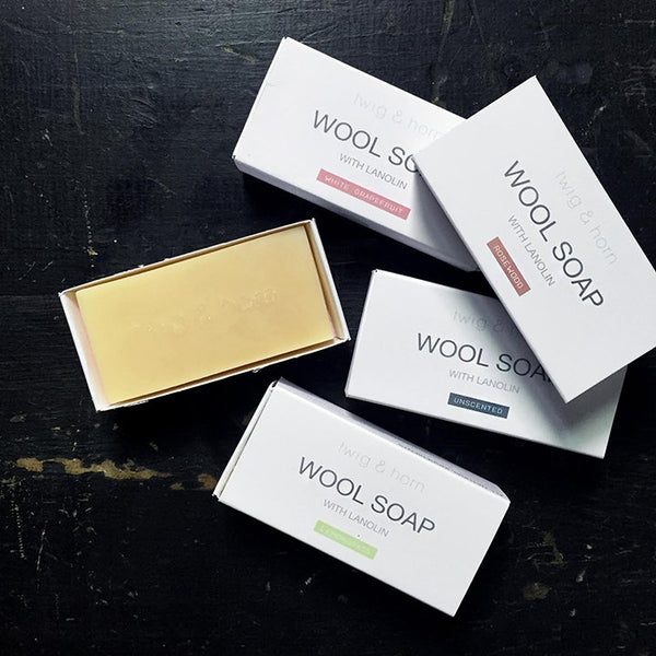 Twig & Horn Wool Soap bars